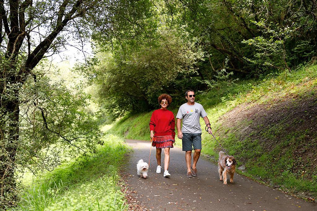 Dónde puedo pasear con el perro en Donostia